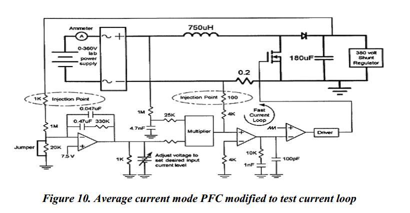 输出电压由pfc电路的输出连接到一个可调并联稳压器.